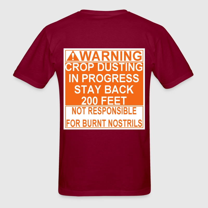 Crop Duster - Men's T-Shirt