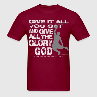 Glory2God4dark.png - Men's T-Shirt