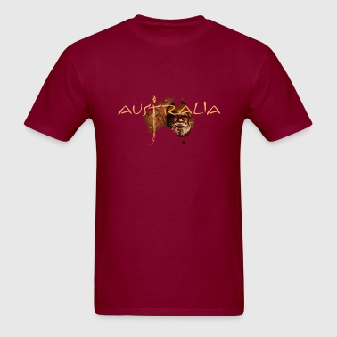 Australia - Dark - Men's T-Shirt