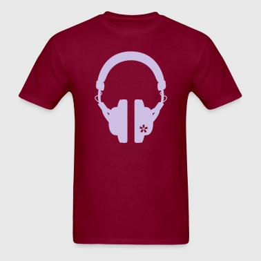 HEADPHONES & CHERRY BLOSSOM A - Men's T-Shirt
