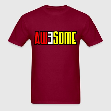 aw3some - Men's T-Shirt