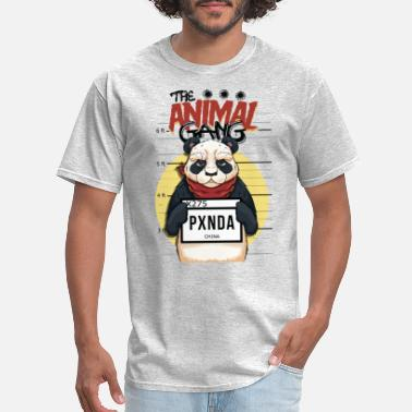 Marquee The Animal Gang Panda - Men's T-Shirt