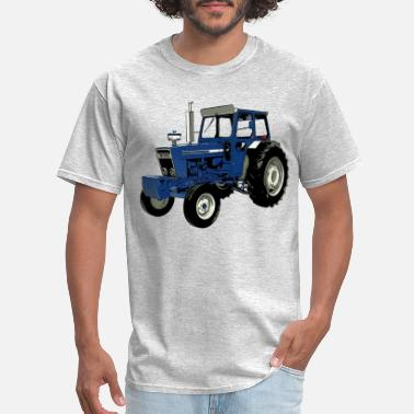 eaa554a9 Tractor Old Ford Tractor Blue - Men's T-Shirt