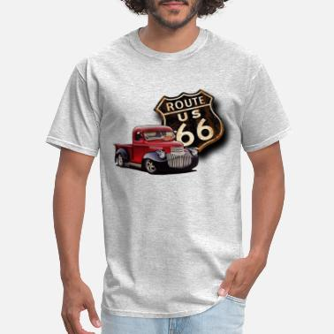 Hot Rod Route 66 Street Rod - Men's T-Shirt