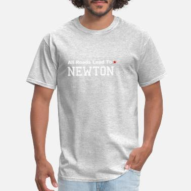 All Roads Lead to Newton - Men's T-Shirt