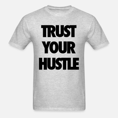 7f05f9ad0 Trust your hustle Unisex Crewneck Sweatshirt   Spreadshirt