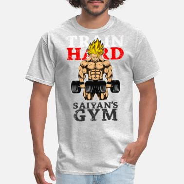 Saiyan Blue super saiyan goku saiyan's gym shirt - Men's T-Shirt