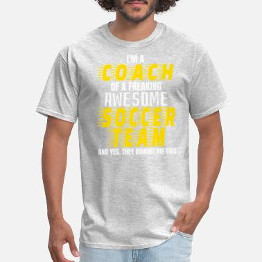 Coach Funny coach gift - Men's T-Shirt