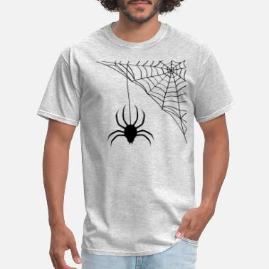 Spider Web Spider and spider's web - Men's T-Shirt