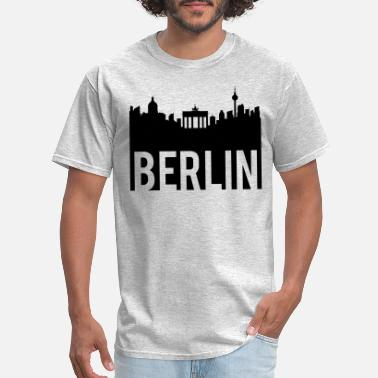 Skyline Of Berlin Berlin Skyline - Men's T-Shirt