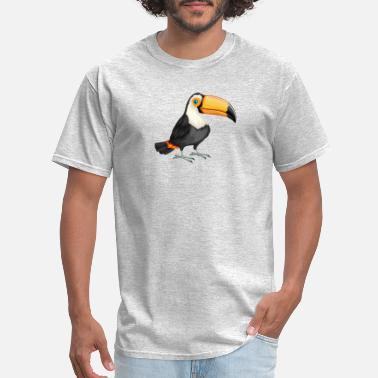 T-shirt Super nice drawed Toucan - Men's T-Shirt