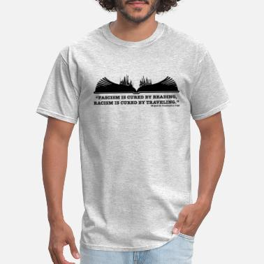 Read More Books READ and Travel - Men's T-Shirt