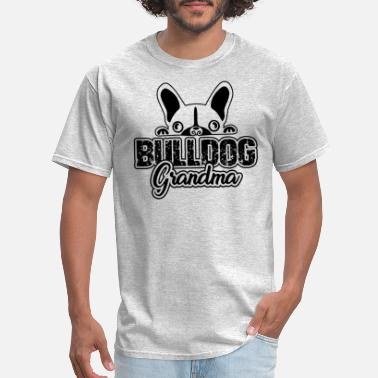 French Bulldog Grandma French Bulldog Grandma Shirt - Men's T-Shirt
