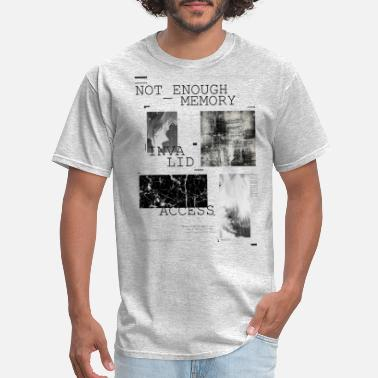 Pop Culture Pop Art Not Enough Memory - Men's T-Shirt