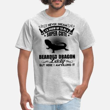 Bearded Lady Bearded Dragon Shirt - Bearded Dragon Lady T Shirt - Men's T-Shirt