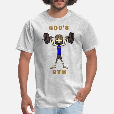 God Gym God's Gym - Men's T-Shirt