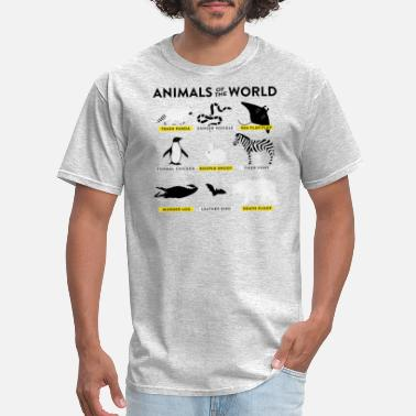 Animal World Animals of the world - Men's T-Shirt