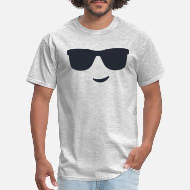 Sunglasses Smiley Face 3 - Men's T-Shirt