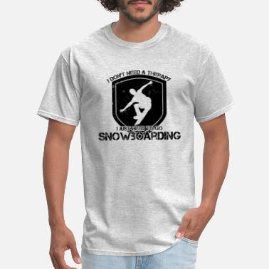 Snowboard Kid Snowboarding Sports Snowboard Winter Snowboarder - Men's T-Shirt