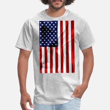 shop vertical american flag t shirts online spreadshirt