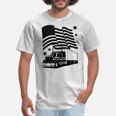 Trucker Flag Trucker Flag Shirt - Men's T-Shirt