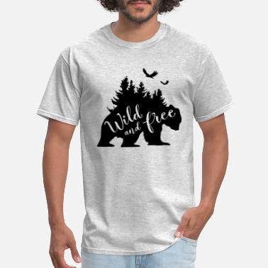 Wild And Free Wild And Free - Men's T-Shirt
