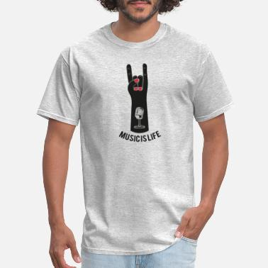 Music Is Life Music is life - Men's T-Shirt