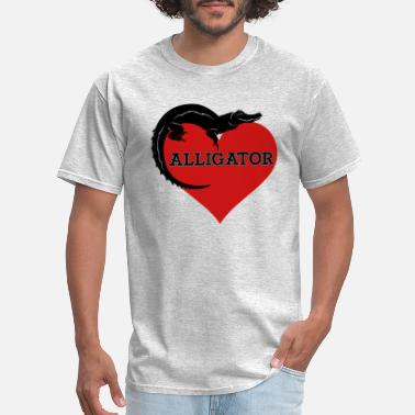 Love Alligator Alligator Shirt - Alligator Love T shirt - Men's T-Shirt