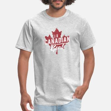 Love A Canadian Girl canadian girl - Men's T-Shirt