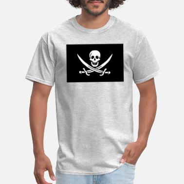 Jolly Roger Classic Pirate Flag - Men's T-Shirt