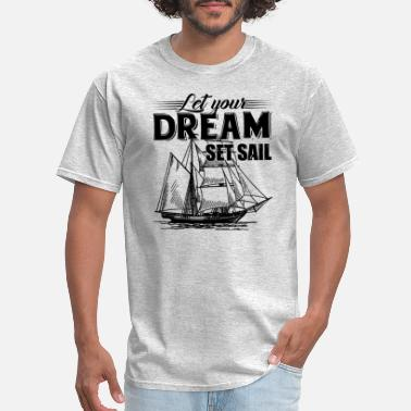 Sail Tops Sailing Shirt - Sailing T shirt - Men's T-Shirt