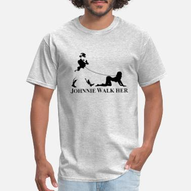 Funny Whiskey Johhnie WalkHer - Men's T-Shirt