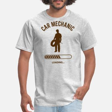 Wrench Car Mechanic Loading - Men's T-Shirt