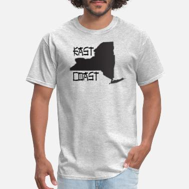 East Coast east coast - Men's T-Shirt