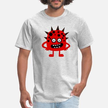 Funk Blues Funk Red Mons - Men's T-Shirt