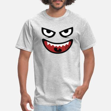 Visage monstre visage - Men's T-Shirt
