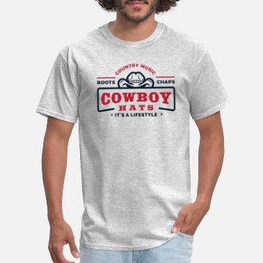 Countrymusic cowboy - Men's T-Shirt