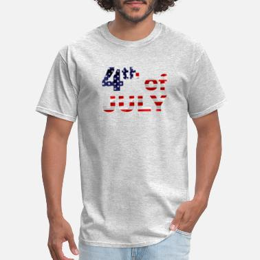 July Fourth Fourth Of July - Men's T-Shirt
