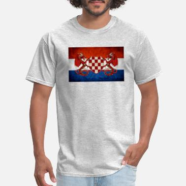 Usta croatian guardian dragons - Men's T-Shirt