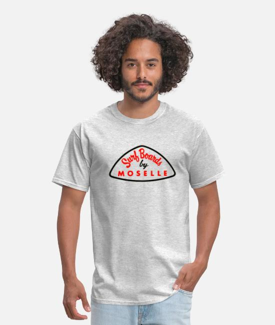 Sail Boat T-Shirts - Moselle - Men's T-Shirt heather gray