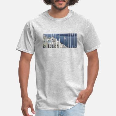 f11b1c87 Santorini seaside in Greece photo for custom shirt - Men's ...