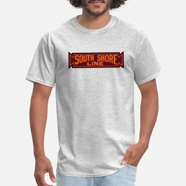 Shore South Shore Line logo - Men's T-Shirt
