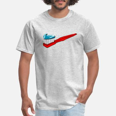 Brush Your Teeth Toothbrush Teeth Brush Brushing Clean Cleaning - Men's T-Shirt