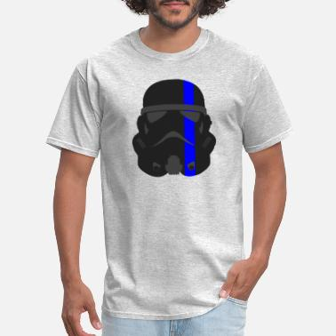 Rcmp Thin Blue Line - Storm Trooper - Men's T-Shirt