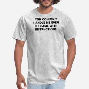Instructions Instructions - Men's T-Shirt