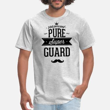Safety Officer 100 percent pure super guard - Men's T-Shirt