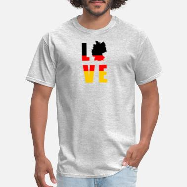 Welfare State LOVE Germany german - Men's T-Shirt