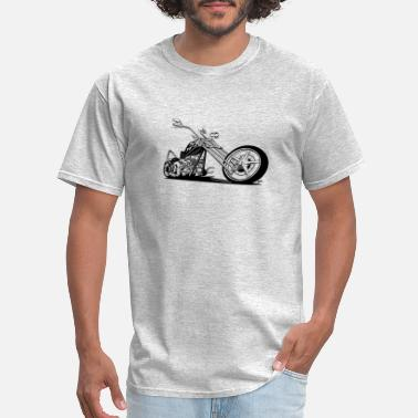 Chopper Custom American Chopper Motorcycle - Men's T-Shirt