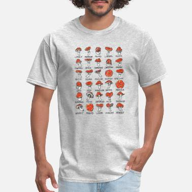 Mushroom Mushrooms / fungi / one world - Men's T-Shirt
