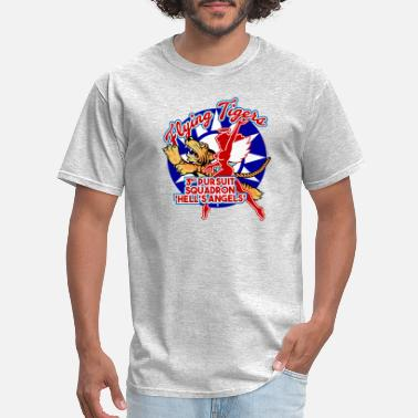 Flying Tigers AVG Flying Tigers - 3rd Pursuit 'Hell's Angels' - Men's T-Shirt